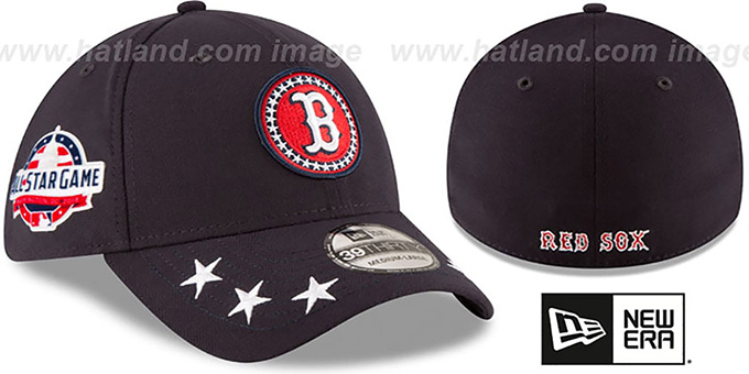 newest 1cd01 765ed Red Sox  2018 MLB ALL-STAR WORKOUT FLEX  Hat by New Era