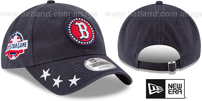 100% authentic 2df93 42d0f Red Sox  2018 MLB ALL-STAR WORKOUT STRAPBACK  Hat by New Era