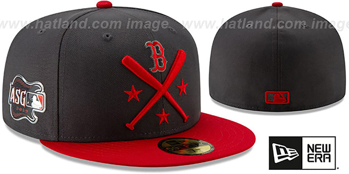 Red Sox '2019 MLB ALL-STAR WORKOUT' Grey-Red Fitted Hat by New Era