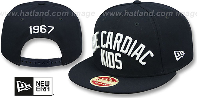 Red Sox 'CARDIAC KIDS CALLOUT SNAPBACK' Hat by New Era : pictured without stickers that these products are shipped with