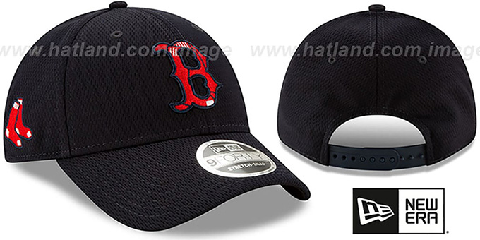 Red Sox 'DASHMARK BP SNAPBACK' Navy Hat by New Era