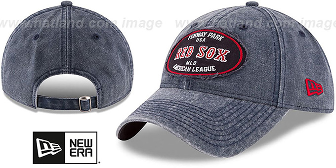 Red Sox 'GW STADIUM PATCH STRAPBACK' Navy Hat by New Era