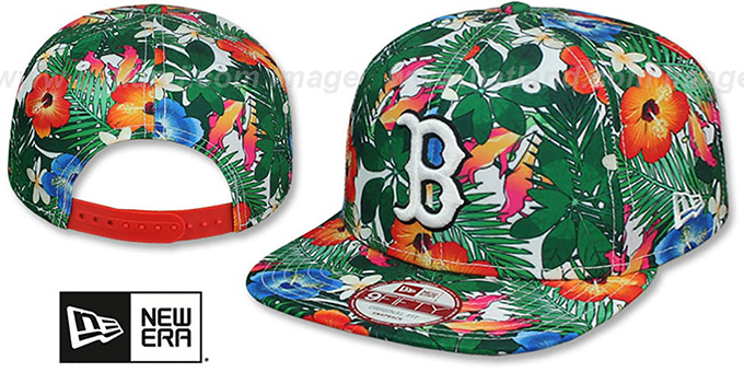 Red Sox 'SUNSHINE BLOOM SNAPBACK' Hat by New Era