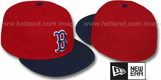 Red Sox 'YASTRZEMSKI' Hat by New Era : pictured without stickers that these products are shipped with