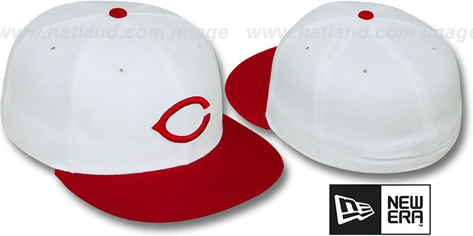 Reds '1957-66 COOPERSTOWN' Fitted Hat by New Era