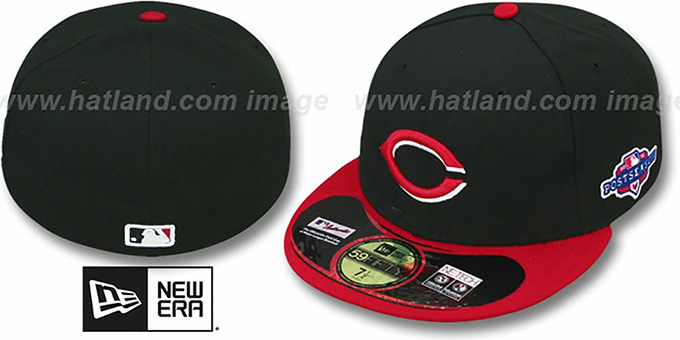 Reds 2012 'PLAYOFF ALTERNATE' Hat by New Era : pictured without stickers that these products are shipped with