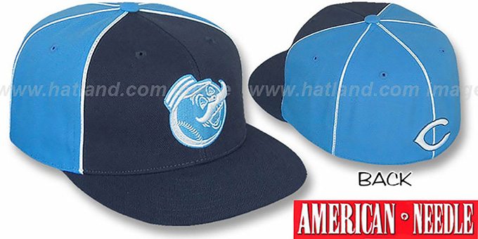 Reds 'FREEZEOUT' Fitted Hat by American Needle : pictured without stickers that these products are shipped with