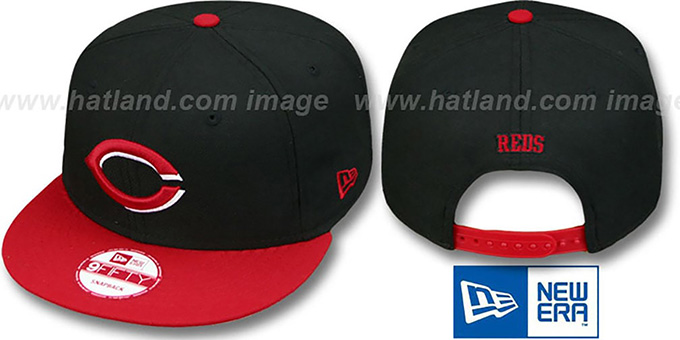 Reds 'REPLICA ALTERNATE SNAPBACK' Hat by New Era : pictured without stickers that these products are shipped with