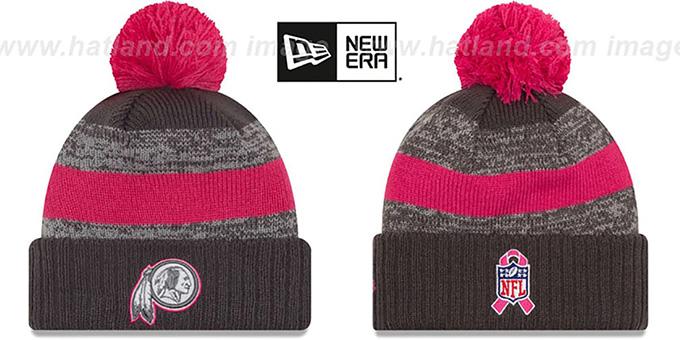 212b476c05edbb Washington Redskins 2016 BCA STADIUM Knit Beanie Hat by New Era. Redskins  '2016 BCA STADIUM' Knit Beanie Hat by ...