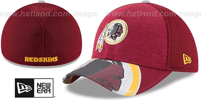 Washington Redskins 2017 NFL ONSTAGE FLEX Hat by New Era 18551279e