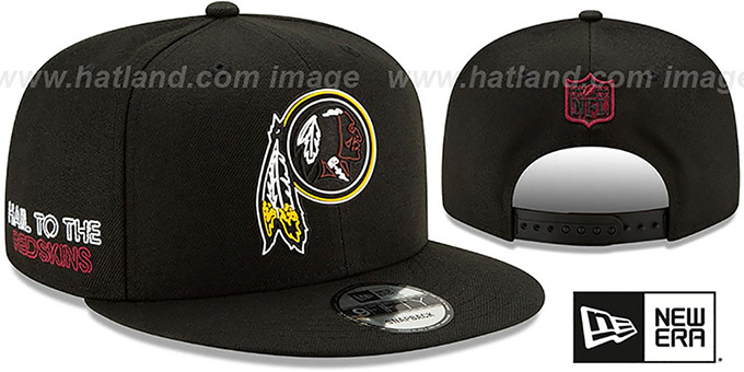 Redskins '2020 NFL VIRTUAL DRAFT SNAPBACK' Black Hat by New Era