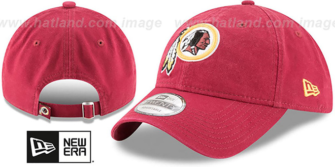 Redskins 'CORE-CLASSIC STRAPBACK' Burgundy Hat by New Era