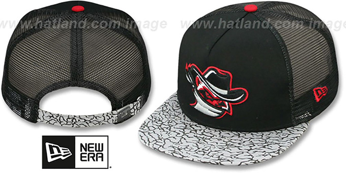 River Bandits 'ELEPHANT-HOOK STRAPBACK' Hat by New Era : pictured without stickers that these products are shipped with