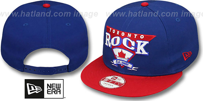 Rock 'TEAM ANGLE' 9FIFTY Snapback Hat by New Era : pictured without stickers that these products are shipped with