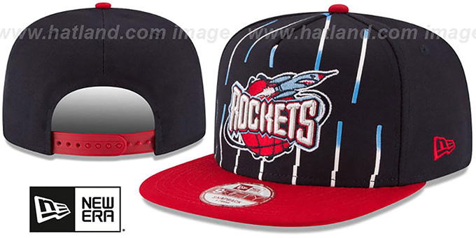 Rockets 'NBA JERSEY MURAL SNAPBACK' Hat by New Era : pictured without stickers that these products are shipped with