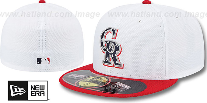 db497361e4e Rockies 2013  JULY 4TH STARS N STRIPES  Hat by New Era