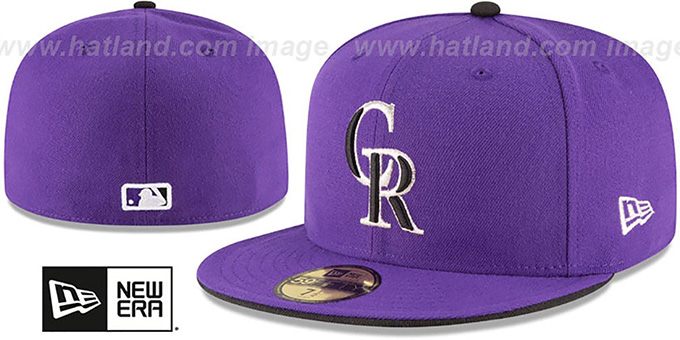 Colorado Rockies AC-ONFIELD ALTERNATE-2 Hat by New Era 31aacd740c8