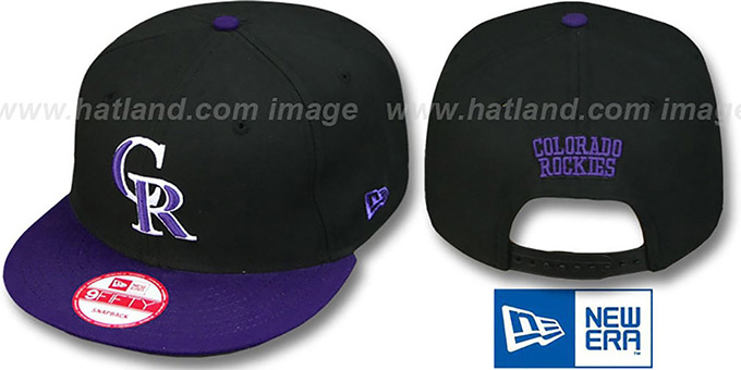 Rockies 'REPLICA ALTERNATE-1 SNAPBACK' Hat by New Era : pictured without stickers that these products are shipped with