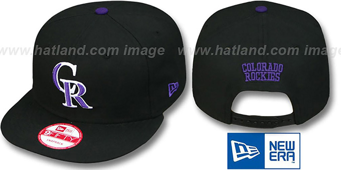 Rockies 'REPLICA GAME SNAPBACK' Hat by New Era