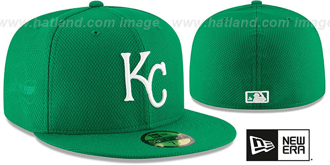 Royals '2016 ST PATRICKS DAY' Hat by New Era : pictured without stickers that these products are shipped with