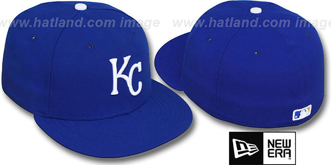 Royals 'PERFORMANCE GAME' Hat by New Era : pictured without stickers that these products are shipped with