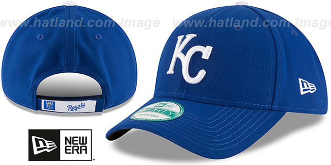best website ce7ac ba55e Royals  THE-LEAGUE GAME STRAPBACK  Royal Hat by New Era