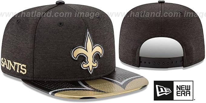 cffe7098dc269 Saints  2017 NFL ONSTAGE SNAPBACK  Hat by New Era