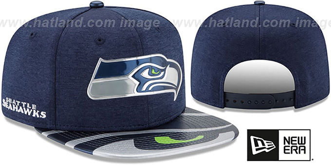Seattle Seahawks 2017 NFL ONSTAGE SNAPBACK Hat by New Era 5ff9f833bb0