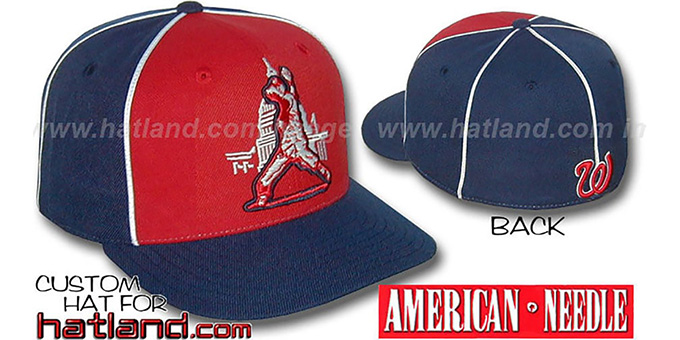 Senators Cooperstown 'BACKTRAX' Hat by Amercan Needle : pictured without stickers that these products are shipped with