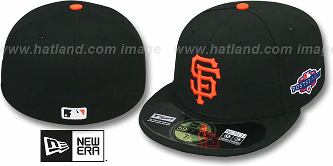 SF Giants 2012 'PLAYOFF GAME' Hat by New Era : pictured without stickers that these products are shipped with