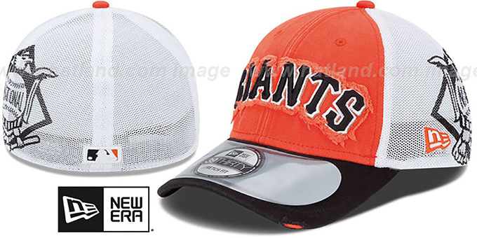 SF Giants '2013 CLUBHOUSE' 39THIRTY Flex Hat by New Era : pictured without stickers that these products are shipped with