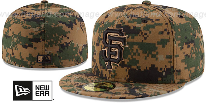 SF Giants 2016 MEMORIAL DAY 'STARS N STRIPES' Hat by New Era : pictured without stickers that these products are shipped with