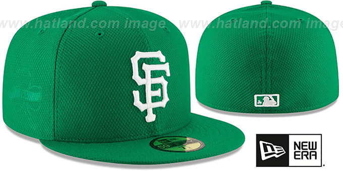 SF Giants '2016 ST PATRICKS DAY' Hat by New Era : pictured without stickers that these products are shipped with