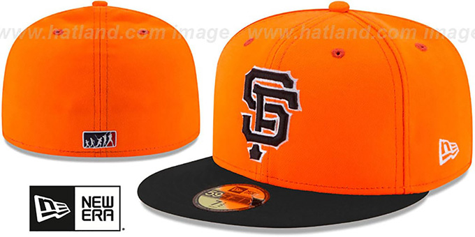 afdb1447572d1 San Francisco SF Giants 2017 MLB LITTLE-LEAGUE Orange-Black Fitte