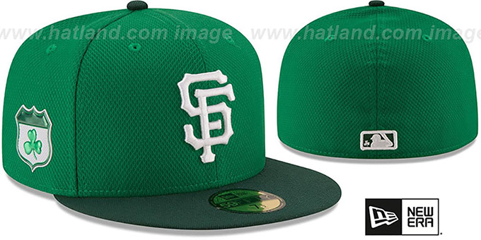 new concept 462d1 21ef1 ... New Era. video available. SF Giants  2017 ST PATRICKS DAY  Hat by ...