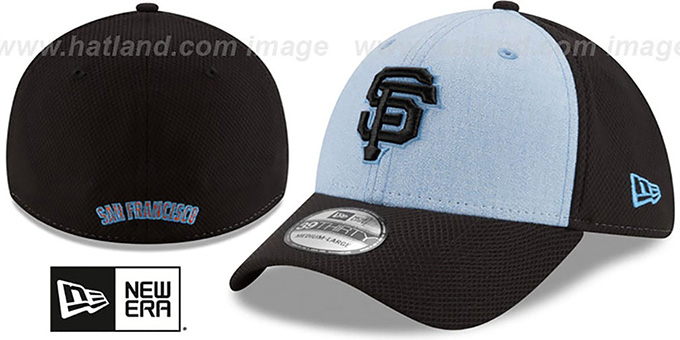 separation shoes c5c01 75330 ... order sf giants 2018 fathers day flex sky black hat by new era 6e17f  7ea22