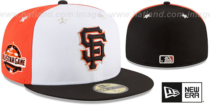 quality design 433ae d53e2 ... New Era. SF Giants  2018 MLB ALL-STAR GAME  Fitted Hat by ...