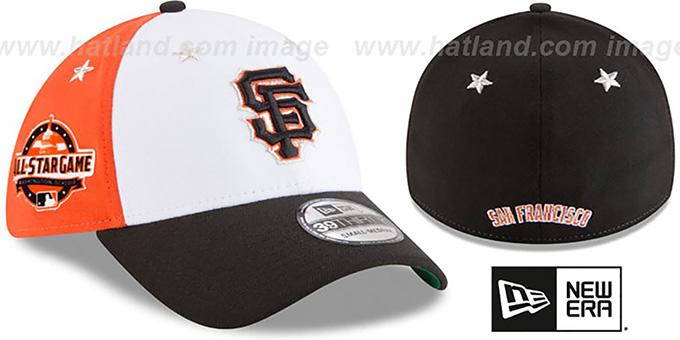 67a627d4c9c1f San Francisco SF Giants 2018 MLB ALL-STAR GAME FLEX Hat