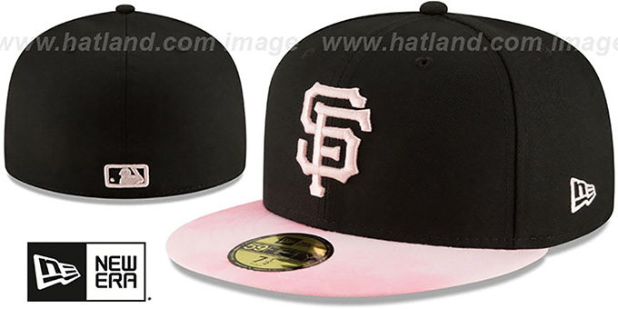 a6a106cefd4846 San Francisco SF Giants 2019 MOTHERS DAY Fitted Hat