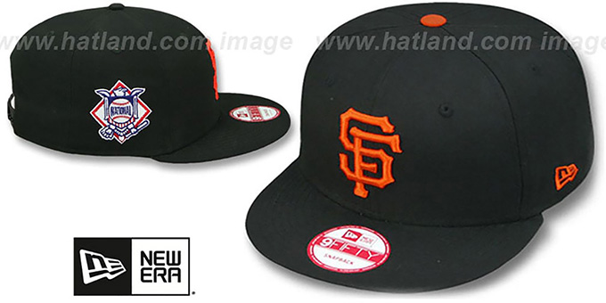 SF Giants 'LEAGUE REPLICA GAME SNAPBACK' Hat by New Era : pictured without stickers that these products are shipped with
