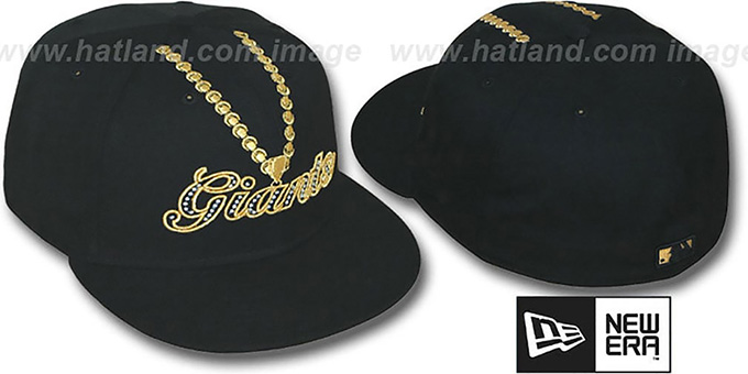 SF Giants 'LUCKY CHARM' Black Fitted Hat by New Era
