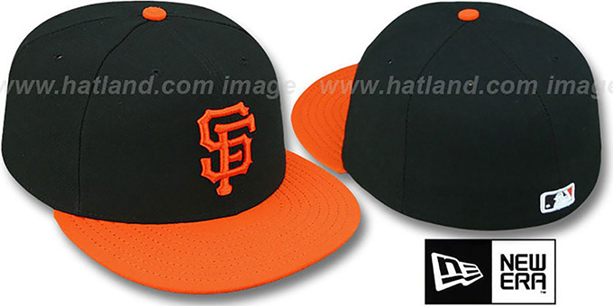 SF Giants 'PERFORMANCE ALTERNATE' Hat by New Era : pictured without stickers that these products are shipped with