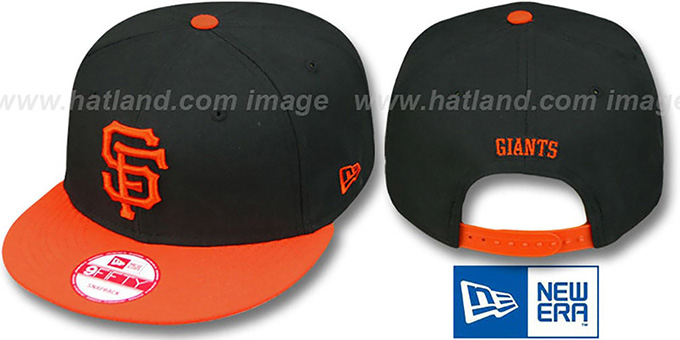 SF Giants 'REPLICA ALTERNATE SNAPBACK' Hat by New Era : pictured without stickers that these products are shipped with