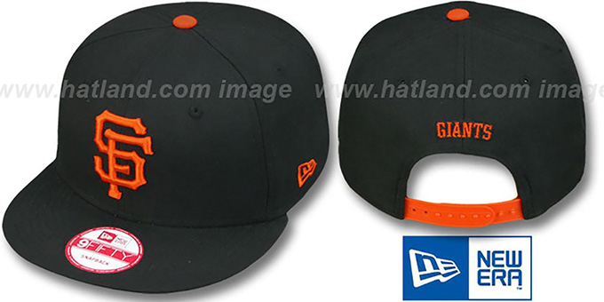SF Giants 'REPLICA GAME SNAPBACK' Hat by New Era : pictured without stickers that these products are shipped with