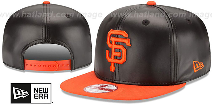 San Francisco SF Giants SMOOTHLY STATED SNAPBACK Black-Orange Hat 340a79fdd12a