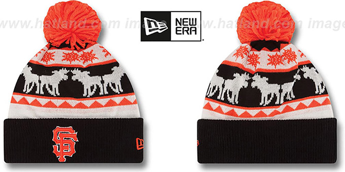 San Francisco SF Giants THE-MOOSER Knit Beanie Hat 51c02cf9121