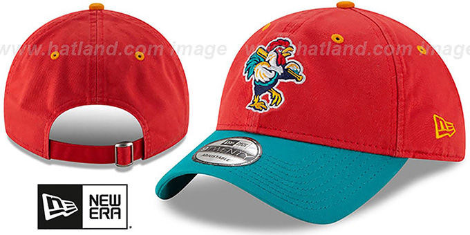 Shorebirds 'COPA STRAPBACK' Red-Aqua Hat by New Era