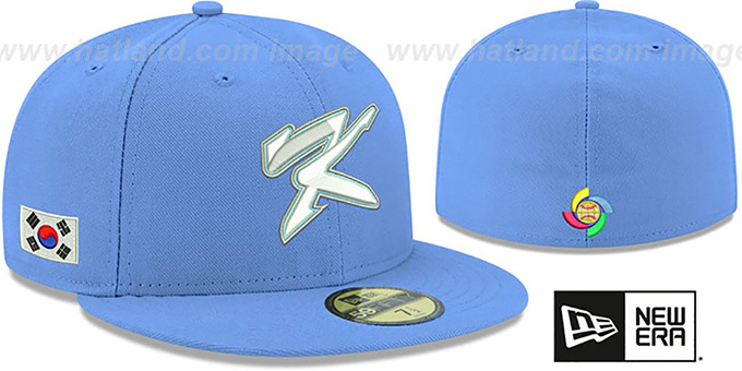 873999dc0c01a South Korea PERFORMANCE WBC-2 Sky Hat by New Era