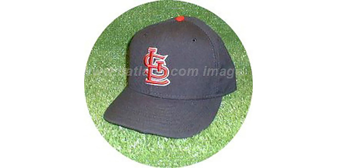 St Louis Cardinals 'ROAD' Hat : pictured without stickers that these products are shipped with