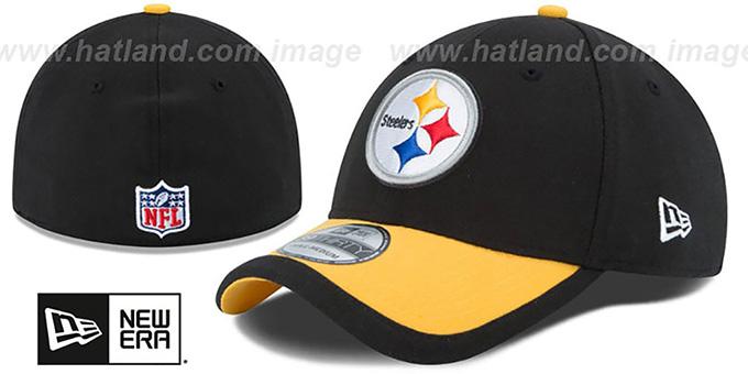 bdc6572b849 Steelers  2015 NFL STADIUM FLEX  Black-Gold Hat by New Era